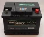 AKUMULATOR GIGAWATT 60Ah 540A P+