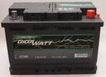 AKUMULATOR GIGAWATT 74AH 680 A P+